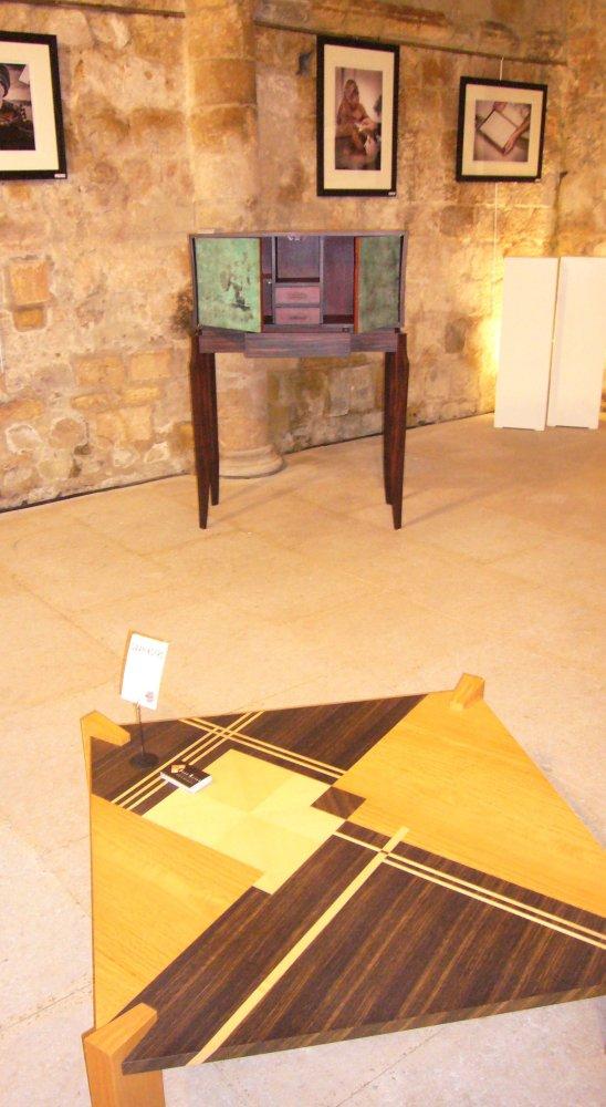 archives photos de la manifestation matieres et couleurs l 39 glise saint pierre touques. Black Bedroom Furniture Sets. Home Design Ideas